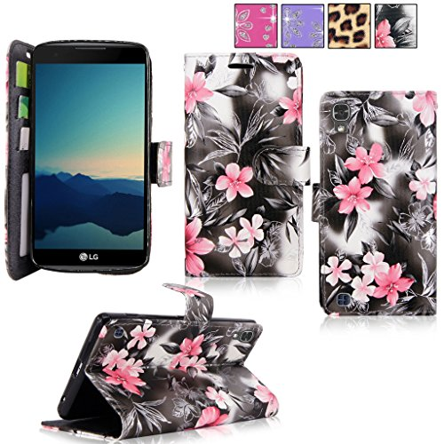 LG X Power Case / LG K6P Case, Cellularvilla [Slim Fit] [Card Slot] Premium Leather Wallet Case [Drop Protection] Book Style Flip Protective Stand Cov…