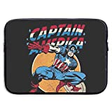 Laptop Sleeve Case Bag Cover Cool Captain America Notebook Bag Case for 13-15 Inch MacBook Air