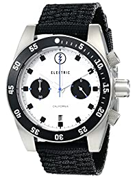 Electric Men's EW0070020015 DW02 Nato Band Analog Display Japanese Quartz Black Watch