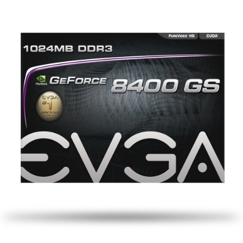 EVGA 1GB GeForce 8400 GS DirectX 10 64-Bit DDR3 PCI Express 2.0 x16 HDCP Ready Video Card Model 01G-P3-1302-LR by EVGA (Image #6)