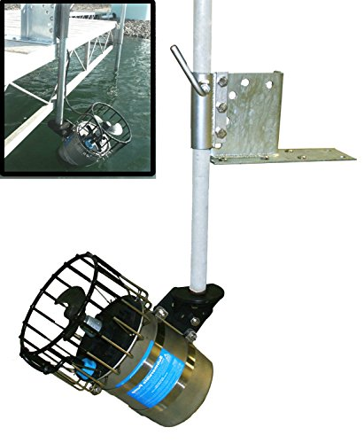 1/2 HP De-icer with Universal Dock & Pier Mount for Winter Lake or Pond Deicing (w/ 25ft cord) by Kasco Marine