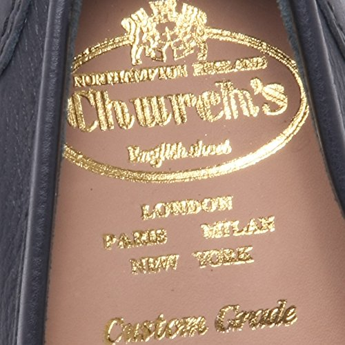 B6150 mocassino uomo CHURCHS PEMBREY M scarpa blu loafer shoe man Blu