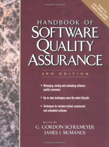 Handbook of Software Quality Assurance, The (3rd Edition) by Prentice Hall PTR