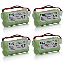 4 Pack of AT&T BT283342 Battery - Replacement for AT&T Cordless Phone Battery (Type B Connector)