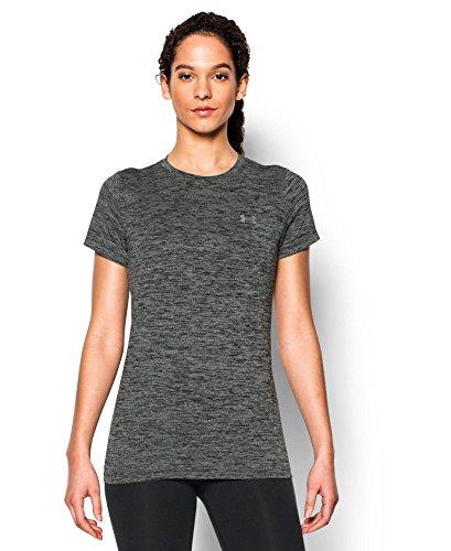 Under Armour Women's Tech Twist T-Shirt, Black (001), X-Large