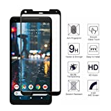 Google Pixel 2 XL {3D FULL Curved Edge} Bubble Free Easy to Install Screen Protector