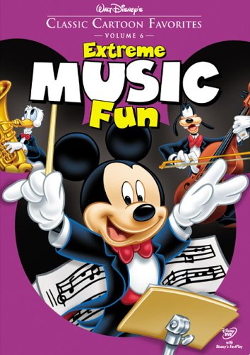 Classic Songs Dvd (Classic Cartoon Favorites, Vol. 6 - Extreme Music Fun)