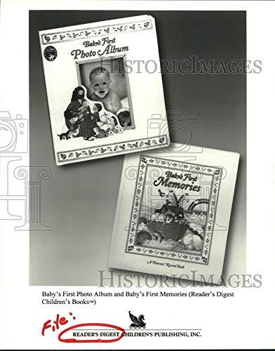 Vintage Photos 1998 Press Photo Baby's First Photo Album & First Memories - Reader's Digest