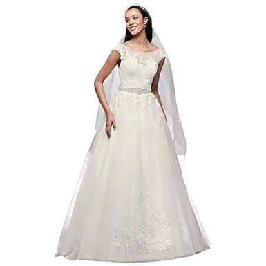 Tulle Sleeve Wedding Dress