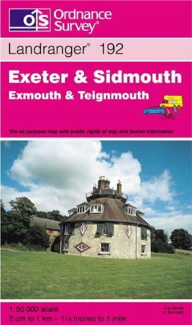 Exeter and Sidmouth, Exmouth and Teignmouth (Landranger Maps) pdf epub