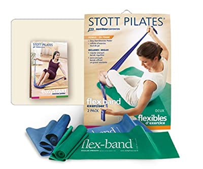 STOTT PILATES Flex-Band Two-Pack from STOTT PILATES