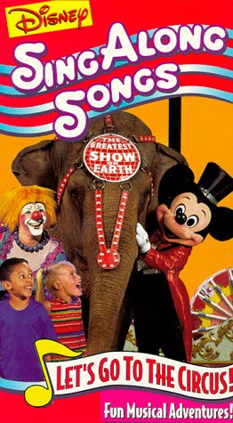 Disney Sing Along Songs - Let's Go to the Circus! [VHS] by Walt Disney Video