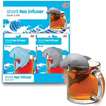 DCI Shark Tea Infuser, Blue or Grey Assortment, Set of 1