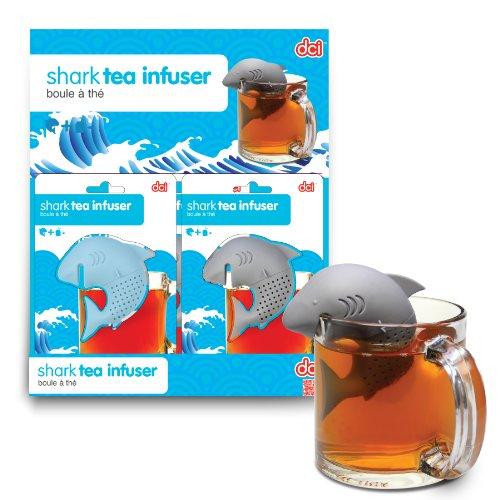 DCI Shark Tea Infuser, Blue or Grey Assortment, Set of 1