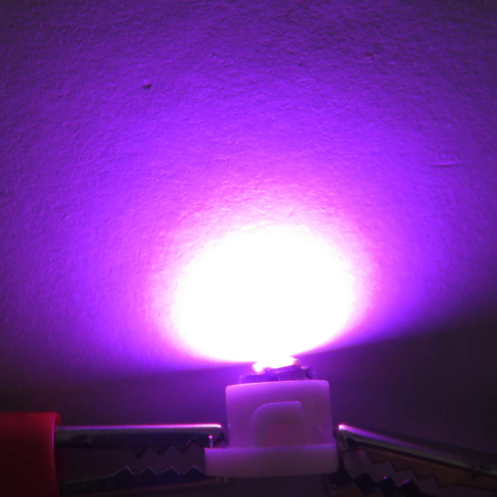 luces de bloqueo de control del clima Bombillas LED T3 Neo Wedge 3030 para instrumentos etc blanco, azul, rojo, hielo, azul, verde, amarillo, rosa 7 colores luces indicadoras de motor