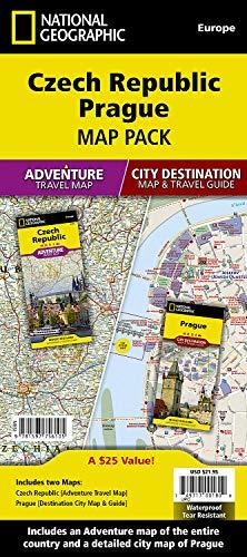 Czech Republic, Prague [Map Pack Bundle] (National Geographic Adventure Map)