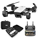 KINGBOT RC Drone, 2.4 Ghz Foldable Quadcopter WiFi FPV Remot...