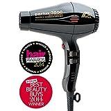 Parlux 3800 Hair Dryer - Black 165BLK