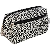 Make up bag Womens Cosmetic Beauty Bags Holder for Ladies Girls Animal Print Leopard Spot
