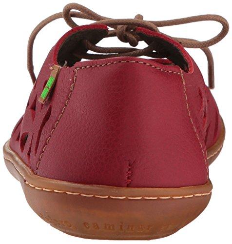 Brogue Black N5271 El Adulto el Unisex Naturalista Grain Zapatos Rojo Viajero Cordones Soft De ZIvIq