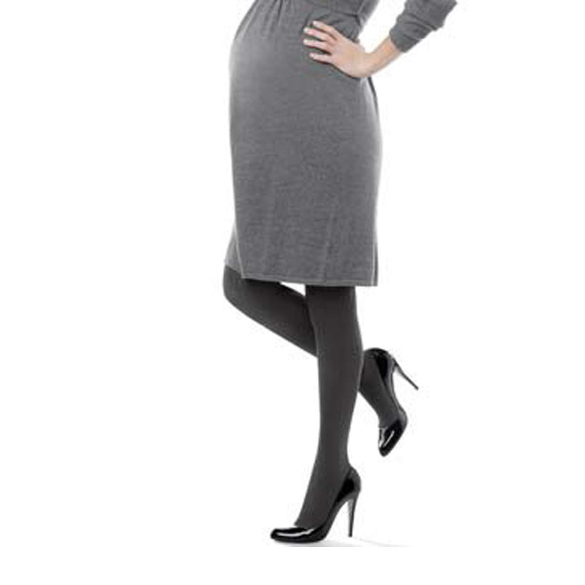 Assets by Sara Blakely Maternity Textured Mama Stripe Tights (873M)