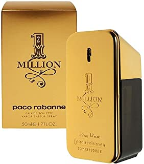 973c7ea55 1 Million by Paco Rabanne for Men - Eau de Toilette, 100ml: Amazon.ae