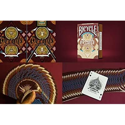 Occult Deck (Bicycle) by Gambler\'s Warehouse - Trick: Toys & Games [5Bkhe2005945]