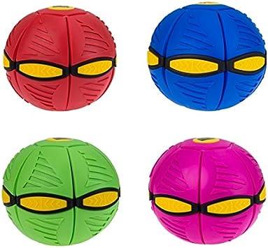 Flat Ball Luz LED Bola Plana DISCO Platillo volante Mágico cambio ...