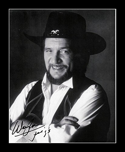 deff55562b0b7 Image Unavailable. Image not available for. Color  8 x 10 All Wood Framed  Photo Waylon Jennings