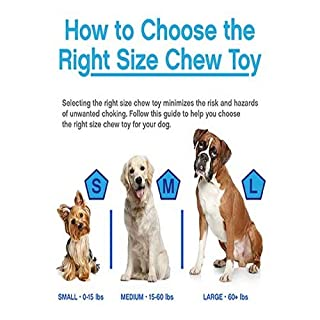 JW Pet Company iSqueak Bouncin' Baseball Dog Toy, Large (Colors Vary)