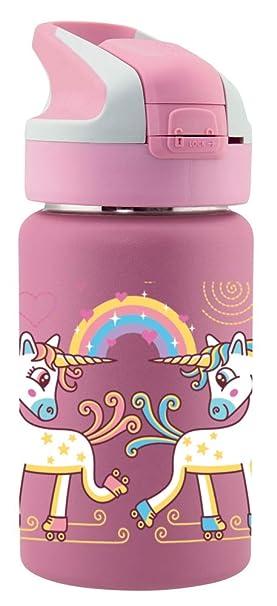 Laken Thermo Mit Unisex-Termo para Adultos con Cierre de Summitverschluß 0,35 L, Color Amarillo, tamaño 0.35, 7.3 x 7.3 x 17.7centimeters