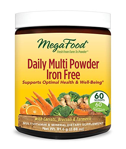 MegaFood, Daily Multi Powder Iron Free, All-in-One Whole Foo