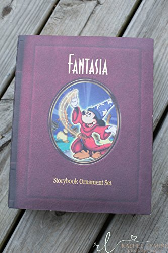 Disney's Fantasia Storybook Ornaments Set of ()
