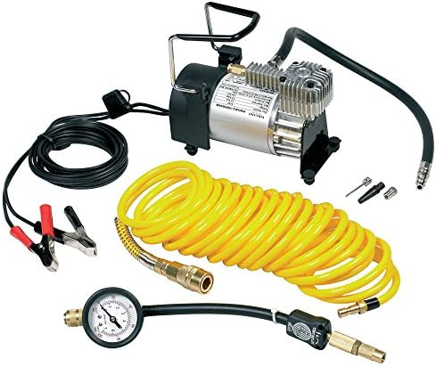 Ring Rac900 Hochlast Kompressor Mit Auf 7 M Verlängerbaren Schlauch Messinganschluss Und Tragetasche PreisgekrÖnt Reifen Auto