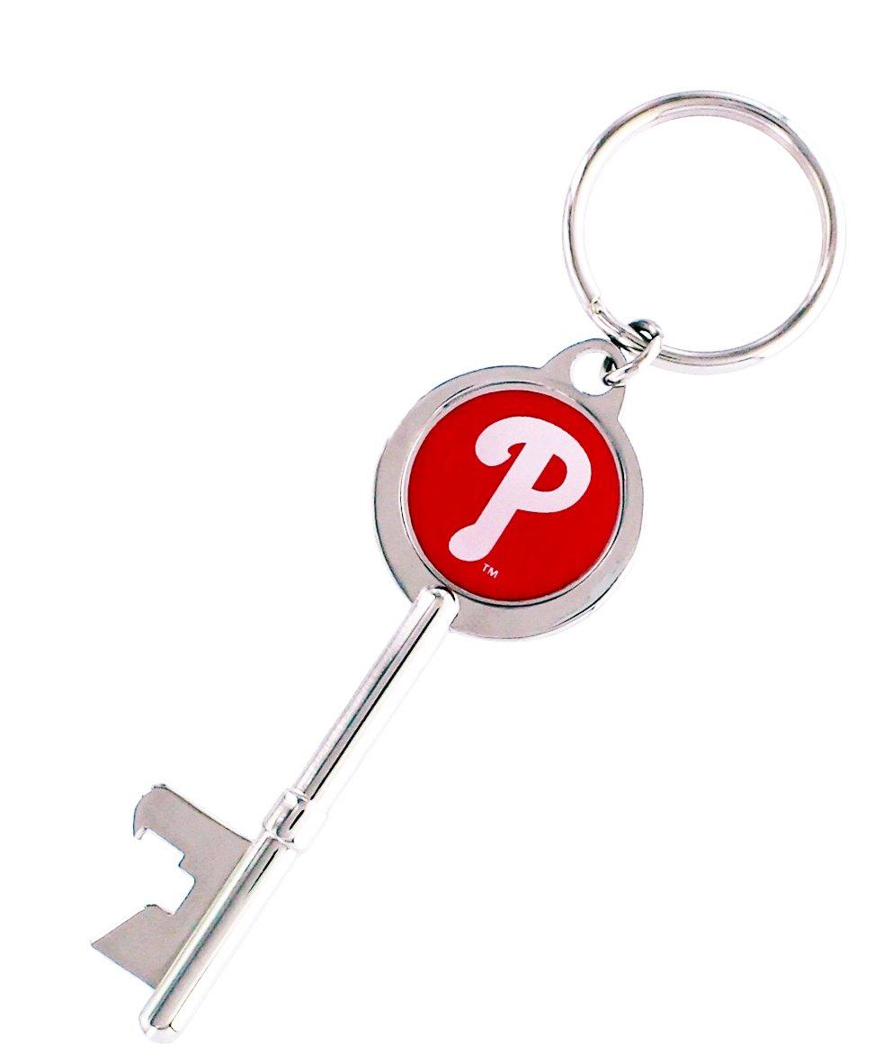 MLB Skeleton Key Bottle Opener Key Ring