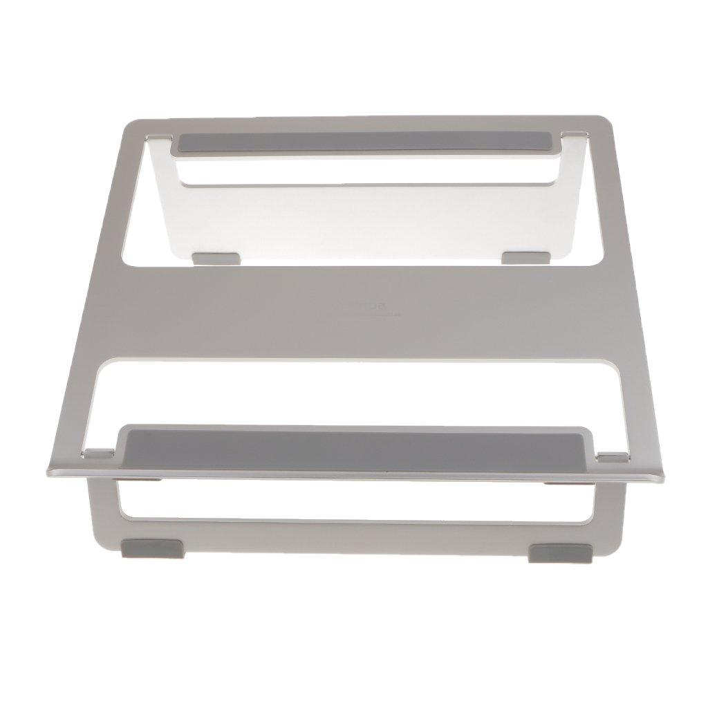 MagiDealアルミニウム合金ラップトップ冷却デスクスタンドホルダーfor MacBook Pro Air/コンピュータ B06XFFWS6Z