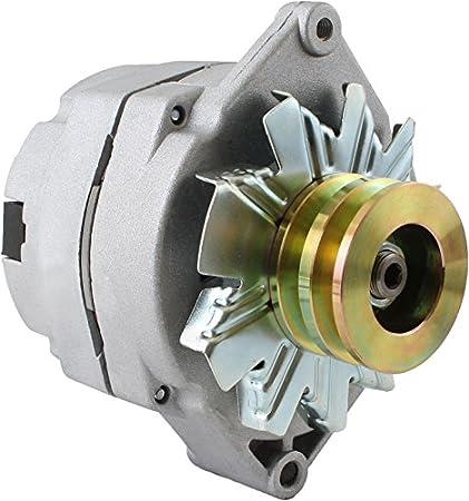 amazon com db electrical adr0183 new alternator for tractor chevy rh amazon com Single Wire Alternator Wiring Diagram Chevy Alternator Wiring Diagram