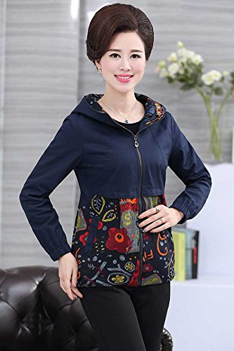 Amazon Com The New Middle Aged Women S Fall Fashion Casual Hooded