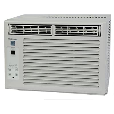 Frigidaire FRA054XT7 Energy Star 5,000 BTU Window-Mounted Mini Room Air Conditioner with 2 Fan Speeds,