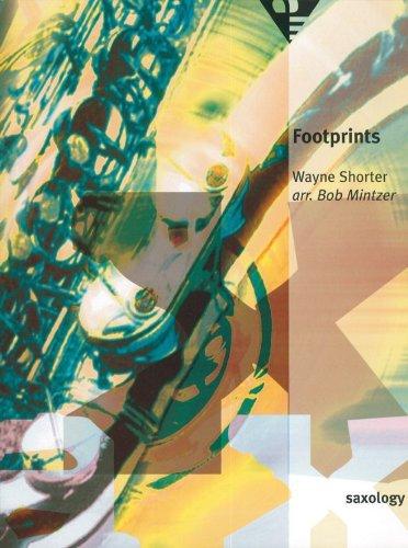 Footprints -Partition+Parties Separees (Anglais) Broché – 1 janvier 1996 Bob Mintzer Advance 0206308507 Musique