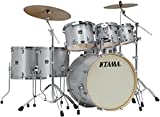 Tama Superstar Classic Custom 7-Piece Shell Pack Silver Snow Metallic