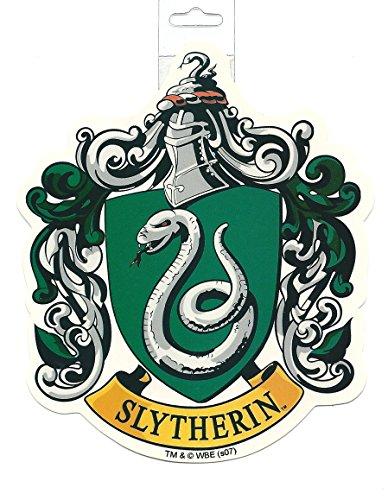 Harry Potter Slytherin School Crest Sticker Large Vinyl Official Licensed Product (Sticker Crest)