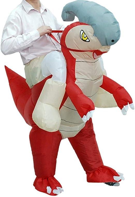 Dinosaurio Inflable explotar Traje de Cuerpo Completo Mono Disfraz ...