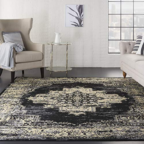 Nourison GRF14 Grafix Modern Contemporary Area Rug, 7'10