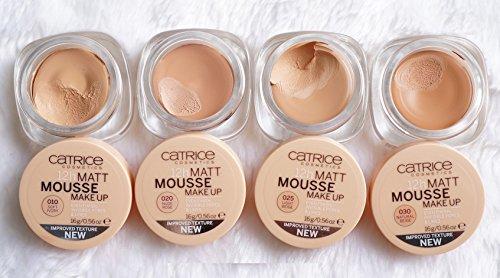 Kết quả hình ảnh cho catrice 12h matt mousse makeup