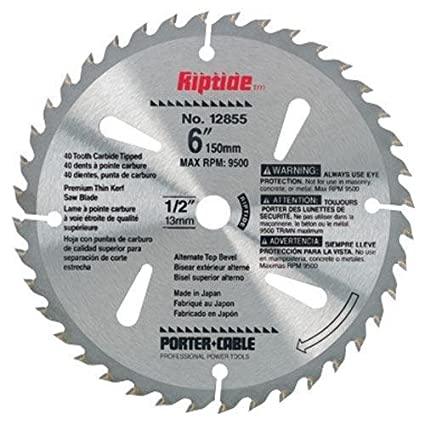 Porter cable 12855 riptide 6 inch 40 tooth atb thin kerf general porter cable 12855 riptide 6 inch 40 tooth atb thin kerf general purpose greentooth Choice Image