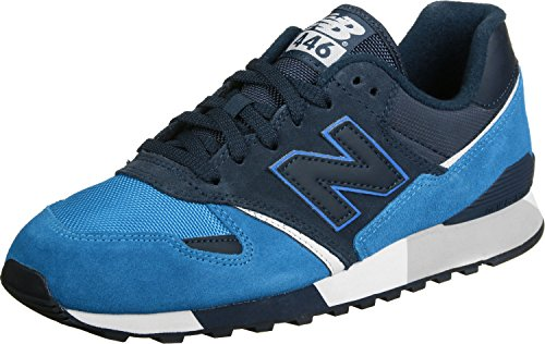 New Balance Herren U446 Sneaker, Grau Navy/Blue
