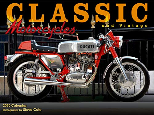 Classic & Vintage Motorcycles 2020 Calendar