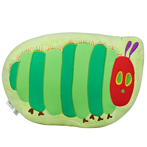 Wildkin The Very Hungry Caterpillar Plush Pillow, Super Soft Plush Pillow, Coordinates with Other Bedding and Room Décor ()