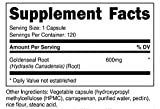 Nutricost Goldenseal Root 600mg, 120 Capsules